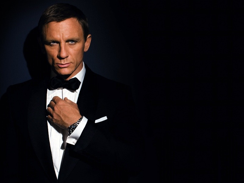 james bond , daniel craig