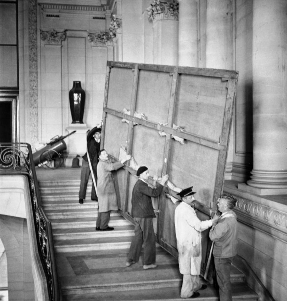 Náci megszállás alatt a Louvre