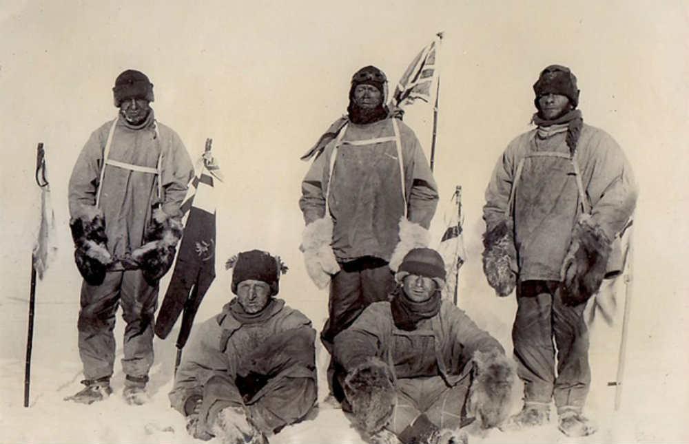 Előkerült a száz éve jégbefagyott jegyzetfüzet - Scott