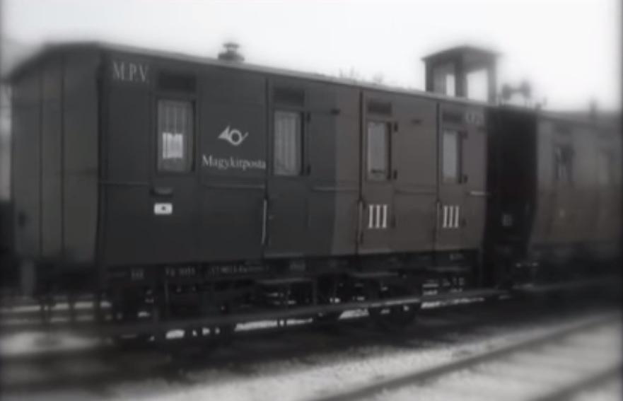 vonat , posta