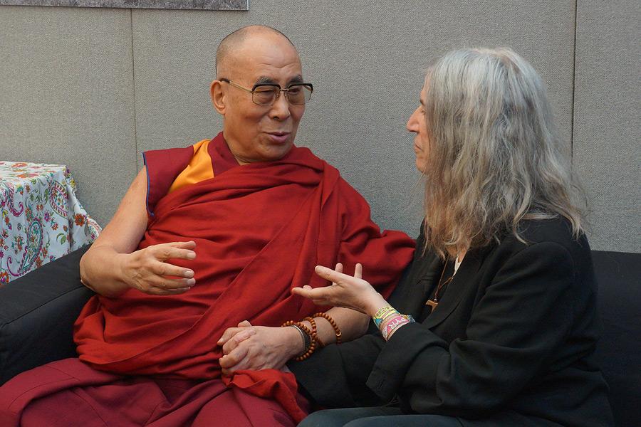 dalai láma - patti smith
