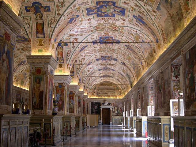 vatikáni múzeum
