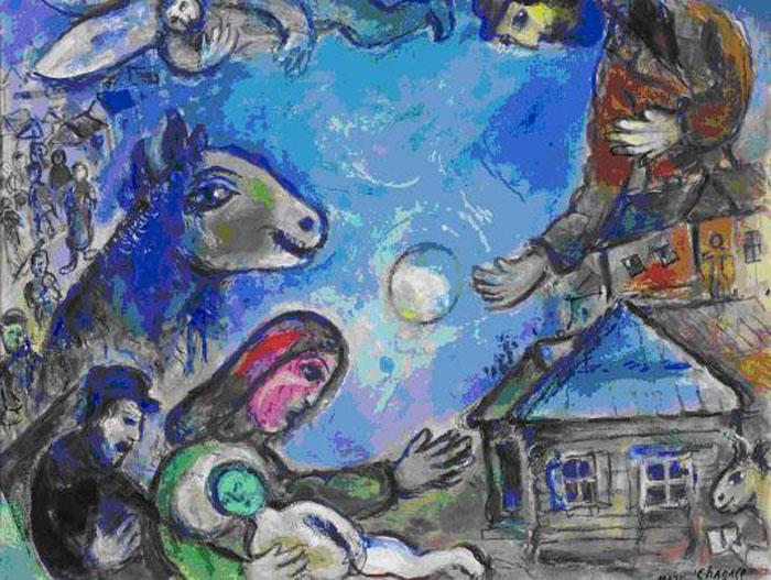 Chagall-kiállítás