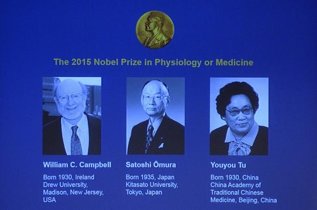 orvosi Nobel-díj 2015