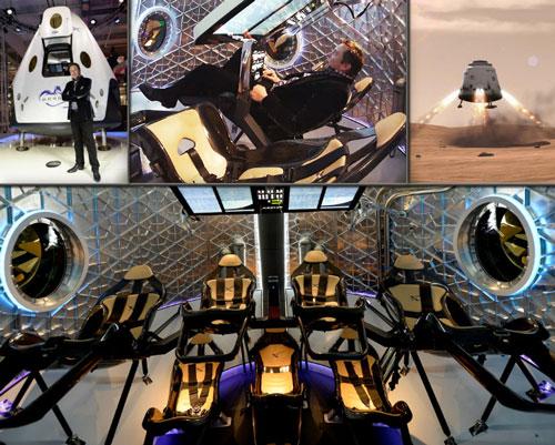 Crew Dragon űrkapszula