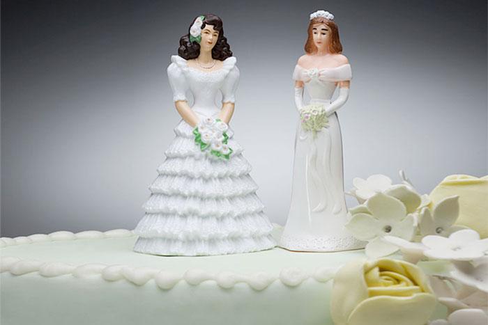 meleg párok esküvői torta