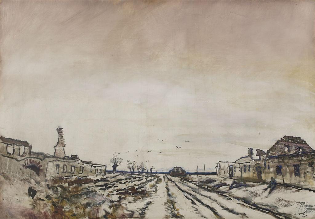 művészek a háborúban