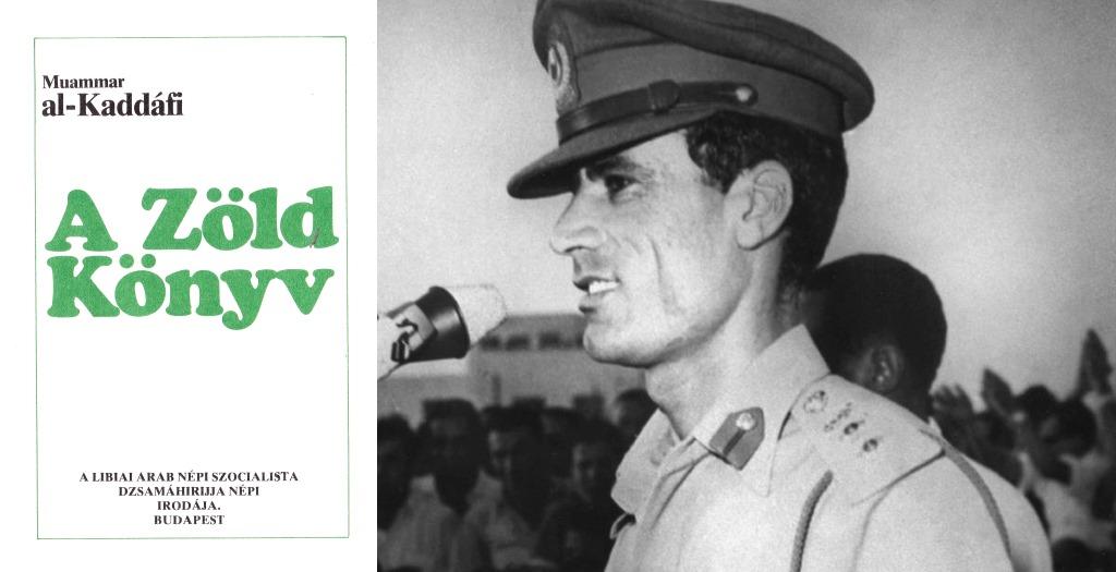 kadhafi zöld könyv