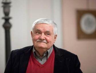 Parti Nagy és Esterházy is felköszöntötte a 75 éves Végel Lászlót