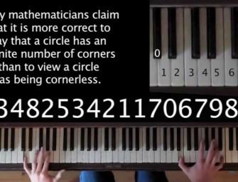 Lekottázták a Pí értékét és zongoradarabot írtak belőle