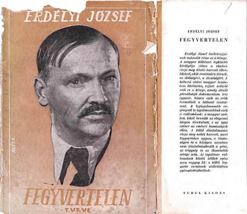 Borító és fülszöveg, 1942.