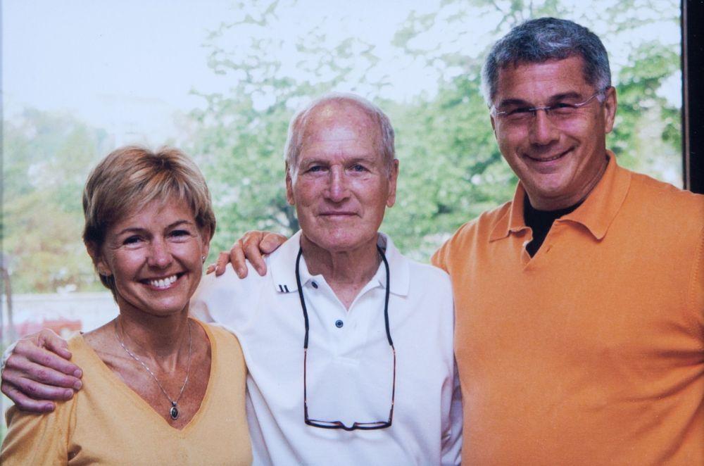 Szalay Dorottyával és Paul Newman-nel