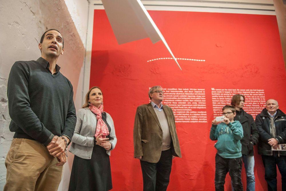 Kenesei Marcell, Czingel Szilvia és Závada Pál (fotó: Bácsi Róbert László)
