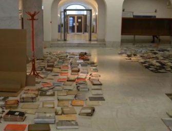Sok százezer műemlékekre vonatkozó dokumentum ázott el a várban