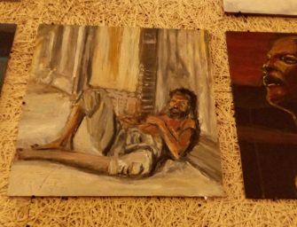 Ecsetvonások A Hajléktalan Festő portréjához