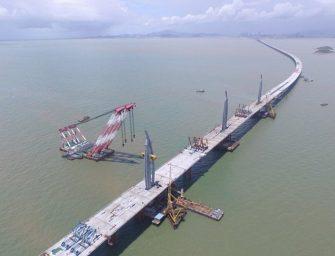 Elkészült a világ leghosszabb tengeri hídja