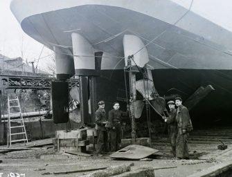 Eddig soha nem látott felvételek a magyar hajógyártás történetéből
