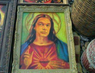 Jézusként festették meg a miniszterelnököt