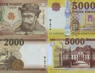 Még ma szabadulj meg a régi 2000 és 5000 forintosoktól!