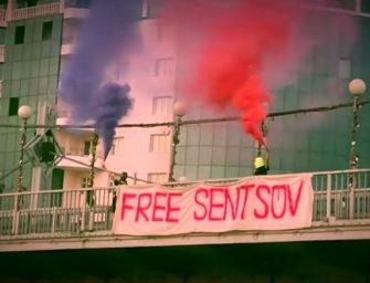 A Pussy Riot kiszabadítaná a 20 év börtönre ítélt ukrán filmrendezőt
