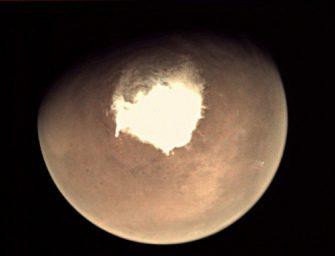 Éjszakánként heves hóviharok dúlnak a Marson
