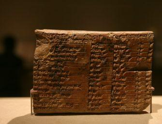 Megfejtették a 3700 éves Plimpton 322 nevű agyagtáblát