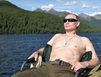Instagramos őrületet indított el Putyin félmeztelen fotója
