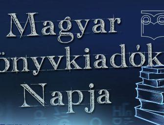 Rengeteg program az 1. Magyar Könyvkiadók Napján