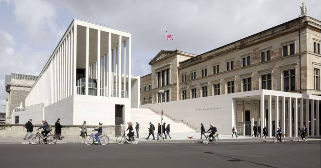 Látogatottsági csúcsot döntött Berlin új múzeuma, a James Simon Galéria